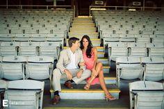 meghan & geoff's saratoga race course engagement shoot   Joe Elario Photography