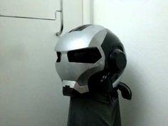 War Machine custom motorcycle helmet