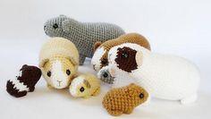 guinea pigs on the LoveCrochet blog