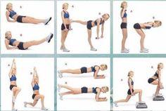 Основной комплекс упражнений для ног