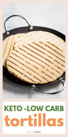 Low Carb Tortillas made with Almond Flour, these gluten free and keto tortillas are quick and easy to make and contain simple ingredients . No Carb Recipes, Low Sugar Recipes, Low Carb Dinner Recipes, Ketogenic Recipes, Healthy Recipes, Ketogenic Diet, Ketos Diet, Sugar Foods, Banting Diet