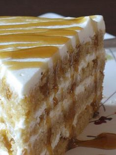 Tartelette: Waiter There Is Something In My...Butterscotch Mascarpone Cream Layer Cake!
