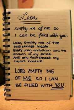 I've prayed this one over and over and probably have close to the same thing written in my prayer journal!