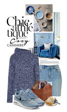 """Holiday Style: Cozy Chic"" by shortyluv718 ❤ liked on Polyvore featuring Derek Lam, NIKE and cozychic"