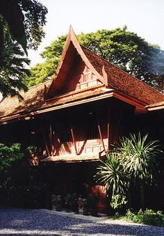 Jim Thompson House in Bangkok is a must visit, beautiful http://en.wikipedia/wiki/File:Jim_Thompson_house.jpg