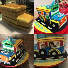 Philippines Jeepney Cake www.facebook.com/foodfiend @food__fiend Jeep Cake, Jeepney, Personalized Cakes, Pinoy Food, 80th Birthday, Filipino, Cake Designs, Pop Tarts, Philippines