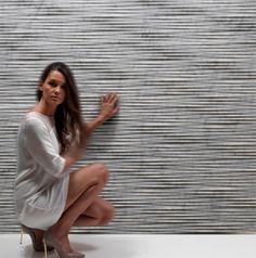 PALLADIO: by Raffaello Galiotto - Natural stone wall cladding / marble / interior / by Lithos Design Natural Stone Wall, Natural Stones, Wall Cladding Interior, Traditional Home Decorating, Marble Interior, Decorating With Pictures, Wall Treatments, Stone Art, Chiaroscuro