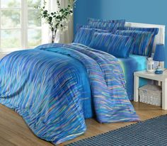 Yous Home Textiles!Reactive Twill printed 4pcs bedding sets,diagonal bedding sheet,with duvet cove bed sheet and pillowcase $98.00 - 100.00
