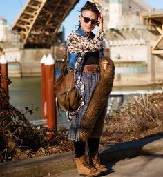 Urban Weeds: Portland Street Style with Lisa Warninger | Living the Good Life