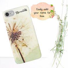 Dandelion Phone Case Nature Lover Gift Boho Phone Case