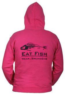Grundens Eat Fish Hooded Sweatshirts
