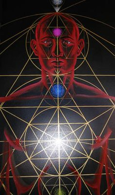 Where the body fits within Sacred Geometry