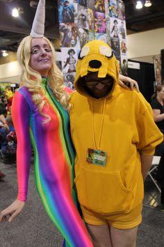 Lady Rainicorn + Jake the Dog Jake The Dogs, Adventure Time, Halloween Costumes, Scene, Cosplay, Manga, Lady, Anime, Fashion
