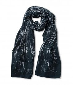 """Katie Loxton """"Stardust"""" Herribone Scarf 