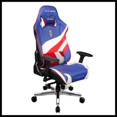 dxracer df53nby pyramat gaming chair computer chair office chair sports chair