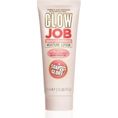 GLOW JOB™  DAILY RADIANCE MOISTURE LOTION RRP $25.00  - 2.5FL.OZ  A two-in-one moisturizing lotion and temporary self-tanner, Glow Job™ features micro Bronzeburst™ Beads that 'pop' when you massage them, leaving you looking, healthy, refreshed, and just ever so slightly sun-kissed. (For those in the nose… it smells like sweet orange peel oil & vanilla.)
