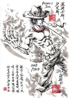 「バルトロメオ」/「極限の道」のイラスト - One Piece Ace