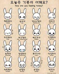 learning moods in korean