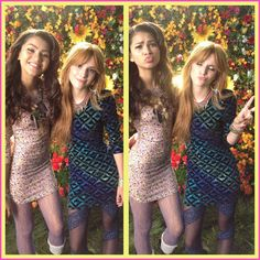 Bella Thorne And Zendaya Coleman Hang Out On June 28, 2012