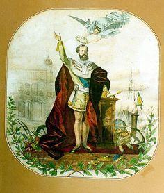 Alegoria do Imperador Pedro II