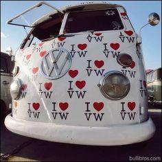 I Love - Volkswagen - Volkswagen Transporter, Transporteur Volkswagen, Vw T1 Camper, Transporter T3, T3 Vw, Vw Bus T1, Campers, Volkswagen Vehicles, Vans Vw
