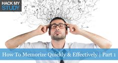 How to memorize quickly and effectively | Part 1 banner