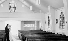 Must have wedding photo. Alone in the church after everyone leaves.