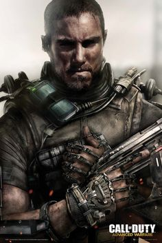 Call of Duty Advanced Warfare Soldier - Official Poster. Official Merchandise. Size: 61cm x 91.5cm. FREE SHIPPING