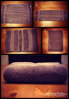 For the days when I can face folding towels.