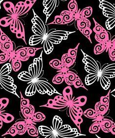 Black Butterfly  www.funkyfleece.com