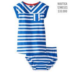 www.traedeusa.com.co/ofertas #Nautica #dress #baby #girl #traedeusa #facilitatuscompras #entregainmediata #enviotodoelpais