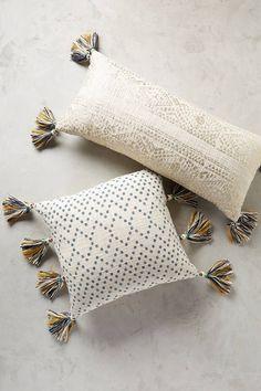 Anthropologie Tasseled Pointilliste Pillow at ShopStyle