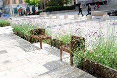 Grande Rue D'Oullins by Atelier du Bocal Landscape Architecture