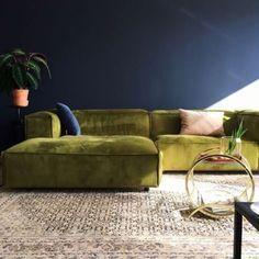 SOFAS IDEAS | Green velvet sofa by Fest Amsterdam | bocadolobo.com/  #modernsofa #sofaideas