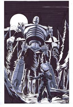 Eclectic Micks: Iron Giant Commission - Stephen Mooney