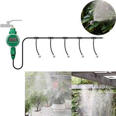 Find More Watering Kits Information about Automatic Micro Drip Irrigation System Atomizing Sprinkler Cooling Spray Micro Sprinkler Watering Kits Gardening Watering Device,High Quality Watering Kits from agreetao on Aliexpress.com