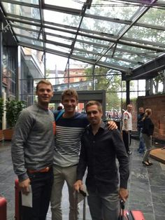 My 3 favorite players on the German team, even though Lahm retired