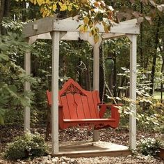 Veranda Swing modern outdoor swingsets - Click image to find more Outdoors Pinterest pins