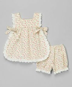 """"""""""" Yellow Floral Top & Bloomers – Infant & Toddler by Les Petits Soleils by Fantais… """""""" Top floral amarillo y Bloomers – Bebés y niños pequeños de Les Petits Soleils de Fantaisie Kids """""""" Baby Dress Design, Baby Girl Dress Patterns, Sewing Patterns Girls, Toddler Girl Outfits, Baby Outfits, Little Girl Dresses, Toddler Dress, Kids Outfits, Infant Toddler"""