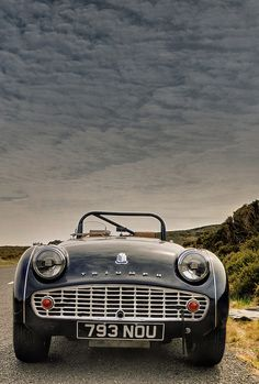 1958 Triumph TR3A by Euan Craine (http://photo.im), via Flickr