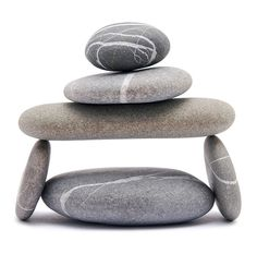"""10 Thoughts on Zen Zen can be a philosophy, a spiritual tradition, or simply a """"way."""" Here are ten diverse thoughts (from teachers, writers and Zen masters) on what it means to walk the Zen path. Beach Rocks, Beach Stones, Wishing Stones, Rock Sculpture, Zen Meditation, Walking Meditation, Rock And Pebbles, Sticks And Stones, Zen Art"""
