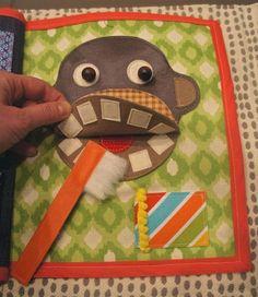 Limpam os dentes livro tranquila.  Sempre que o silêncio é necessário, manter o seu filho entretido com seu próprio livro divertido e tranquilo criativo.