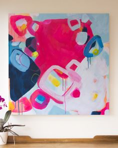 'Loops' Jen Sievers - Contemporary New Zealand abstract artist