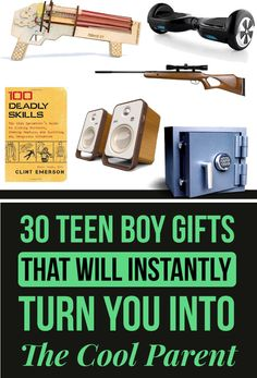 Awesome Gift Ideas for Teenage Boys