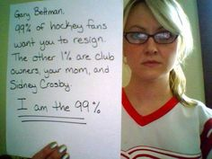 They say what needs to be said. | Detroit Red Wings Fans Are The Best