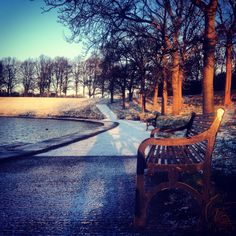 Winter in Inverleith Park, Edinburgh. From stockbridgeedinburgh.com