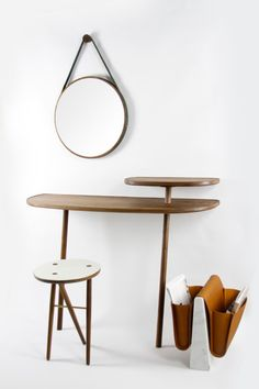 Cloud Console is a minimalist design created by England-based designer Gautier Pelegrin. Two tier wall supported console table. Perfect for ...