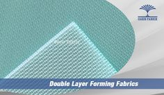 Double layer forming fabrics for paper making, paper machine clothing