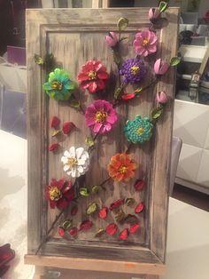 Jute Crafts, Leaf Crafts, Pine Cone Crafts, Diy Home Crafts, Flower Crafts, Creative Crafts, Fall Crafts, Arts And Crafts, Paper Crafts