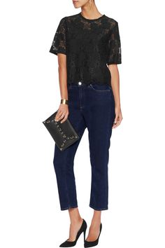Shop on-sale Sandro Corded lace top. Browse other discount designer Tops & more on The Most Fashionable Fashion Outlet, THE OUTNET.COM
